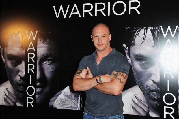 Tom Hardy at Warrior Movie Event