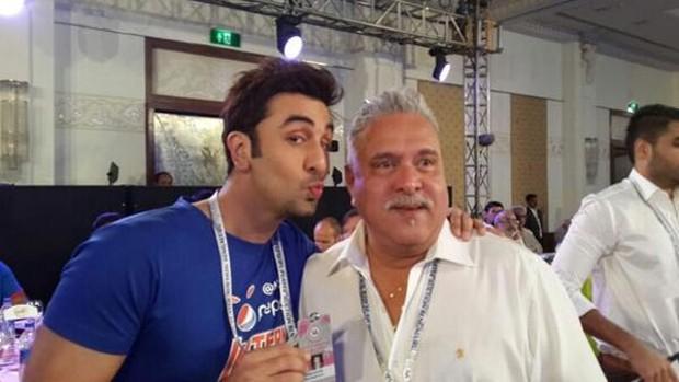 Vijay Mallya With Ranbir Kapoor