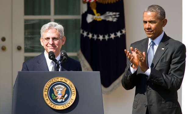 Merrick Garland With President Barack Obama