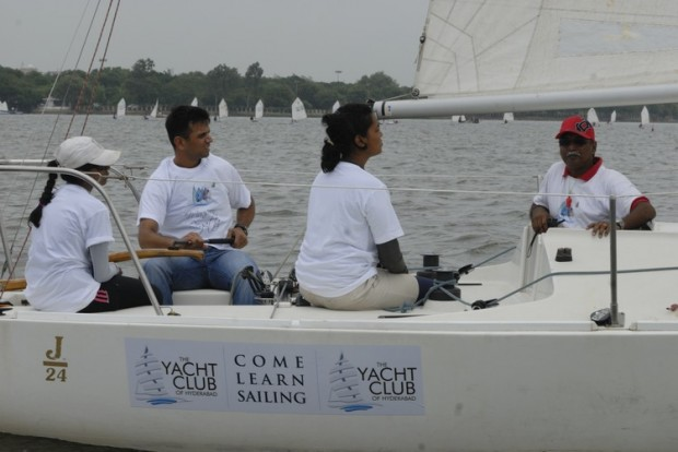Dravid Sailing Boat at Hyderabad