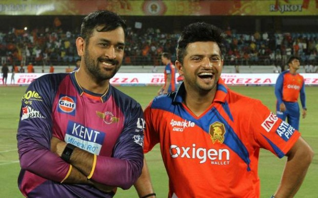Raina and Dhoni in different teams after 8 long years of ipl