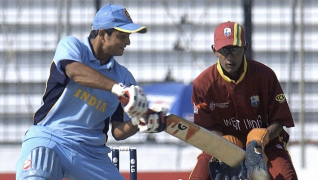 Young Suresh Raina during Under19 Worldcup