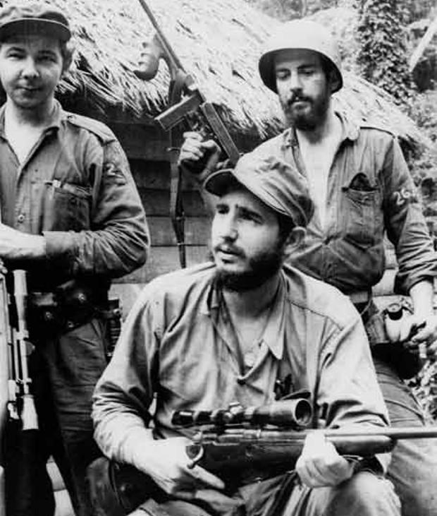 Raul Castro With Fidel Castro, Camilo Cienfuegos