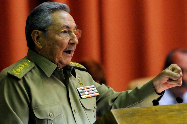 Raul Castro Addressing