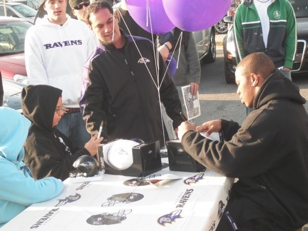 Ray Rice at an event of Car Biz