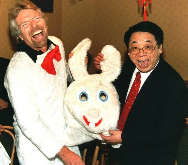 Easter Celebrations of Richard Branson