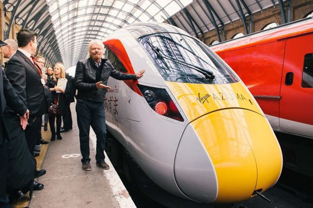At Launch of Virgin Trains East Coast