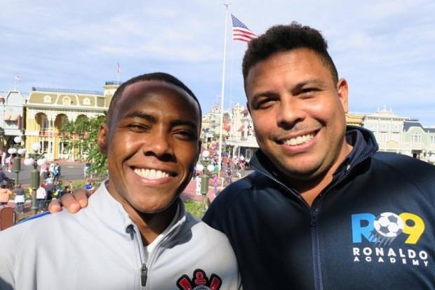 Tico Elias and Ronaldo