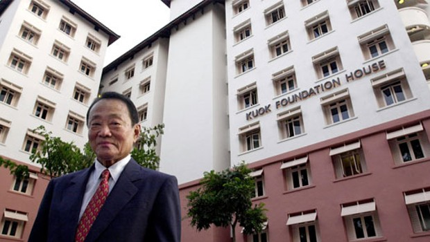 Robert Kuok at His Foundation