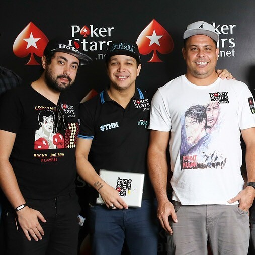 Ronaldo at an event of Poker Stars