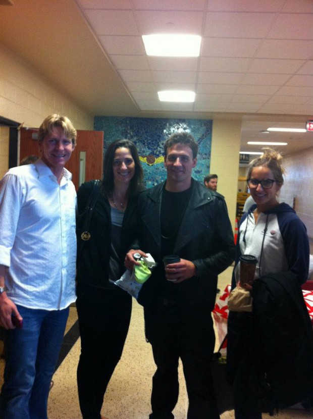 Ryan with Josh Davis, Kristy Kowal and Kim Vandenberg