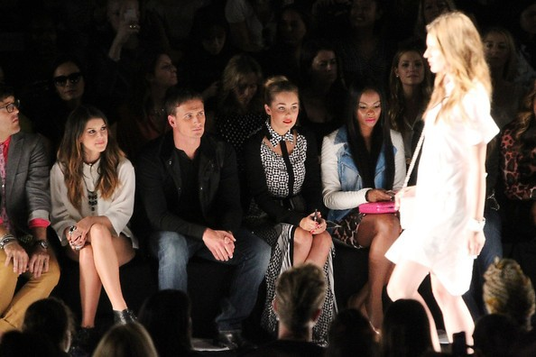 Ryan in the Front Row at the Rebecca Minkoff Show