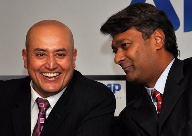 Sabeer Bhatia with AMP Technologies Chairman, Neel Naicker