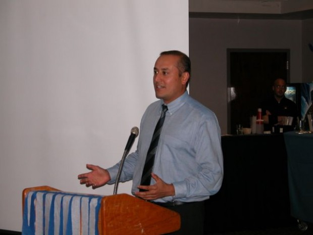 Sabeer Bhatia at St. Joseph's Reunion in 2005