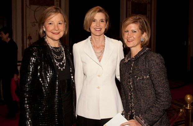 Sallie Krawcheck With Jane Sherburne and Mary Erdoes