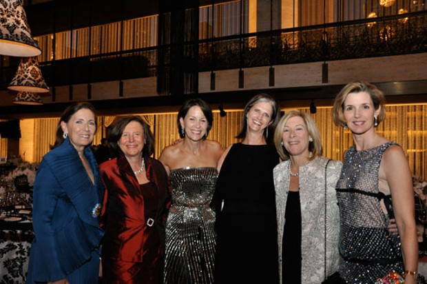 Ann Ziff, Ellen Futter, Katherine Farley, Deborah Berke, Nancy Garvey, and Sallie Krawcheck