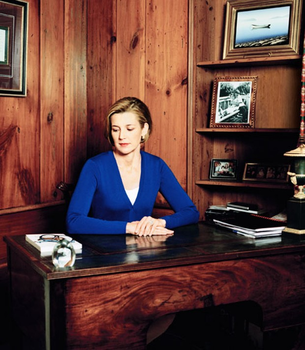 Sallie Krawcheck in her Office
