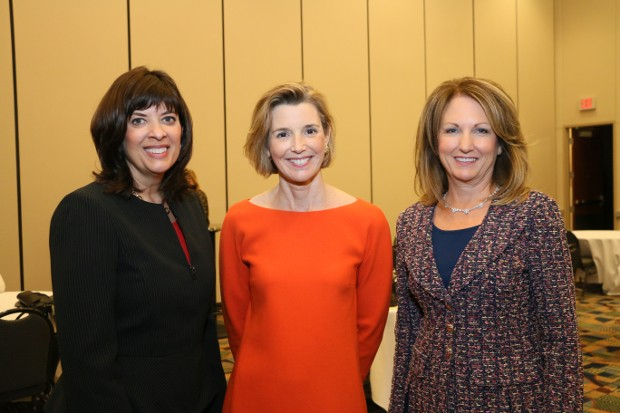 Sallie Krawcheck With Karen Goracke and Gail DeBoer