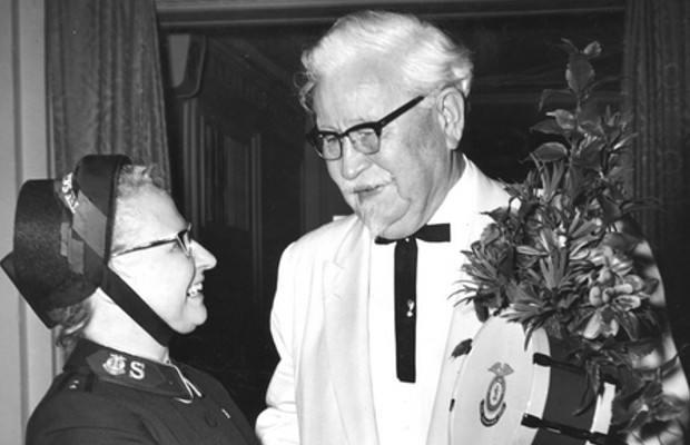 Colonel Sanders in 1961