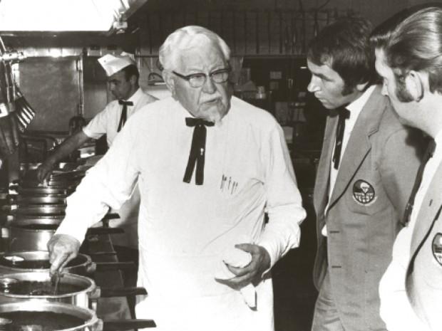 Sanders at KFC