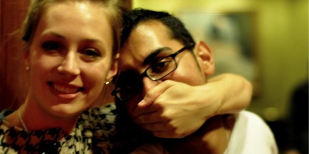 Sarah Townsend and Neil Patel