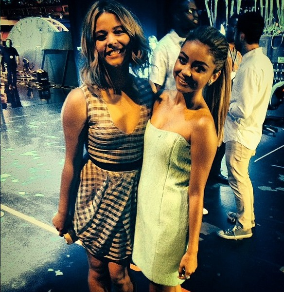 Sasha Pieterse and Sarah Hyland