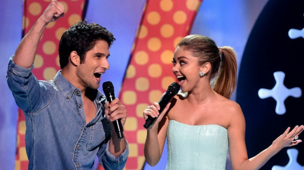 Sarah Hyland and Tyler Posey