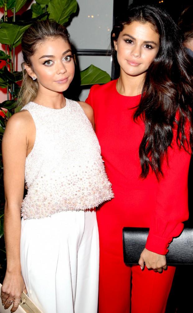 Sarah Hyland and Selena Gomez