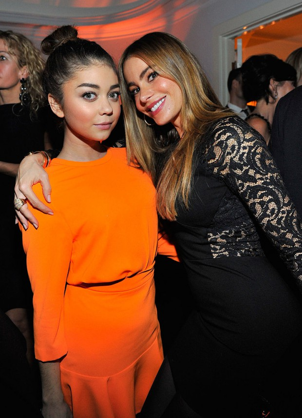 Sarah Hyland with Sofia Vergara