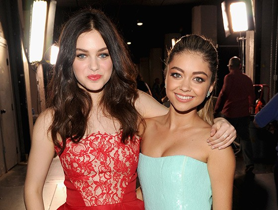 Lucy Hale and Sarah Hyland