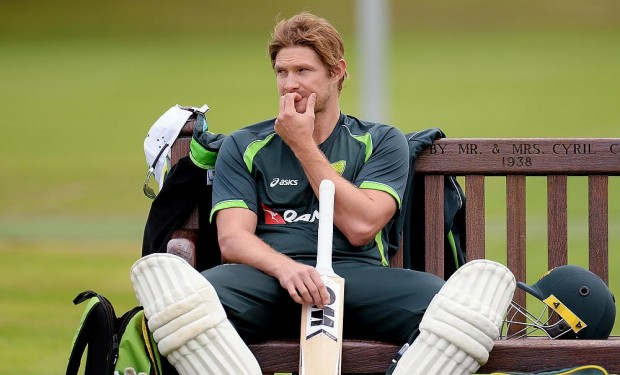 Shane Watson During Practice Session