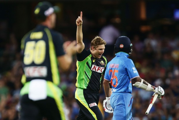 Shane Watson in His Last International Match