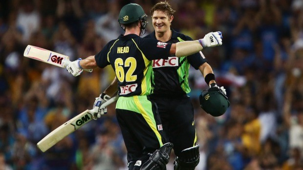 Shane Watson After Scoring 124 in a T20 Match Against India