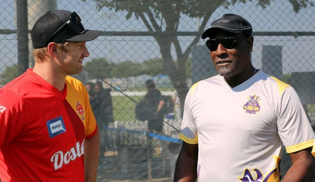 Shane Watson with Viv Richards