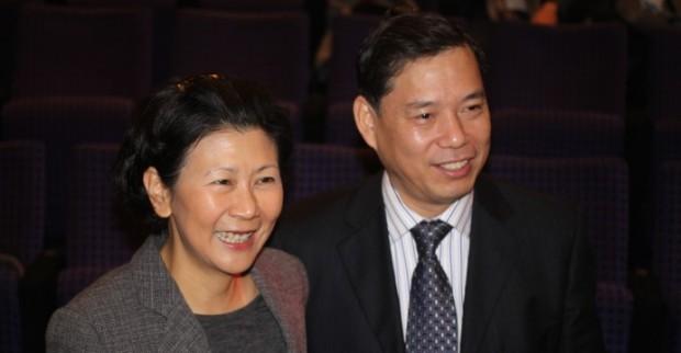 Solina Chau and Lu Kun