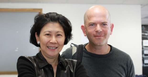 Solina Chau and Ofer Vilenski founder and chief executive of Hola