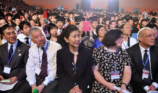 Solina Chau at Shantou University