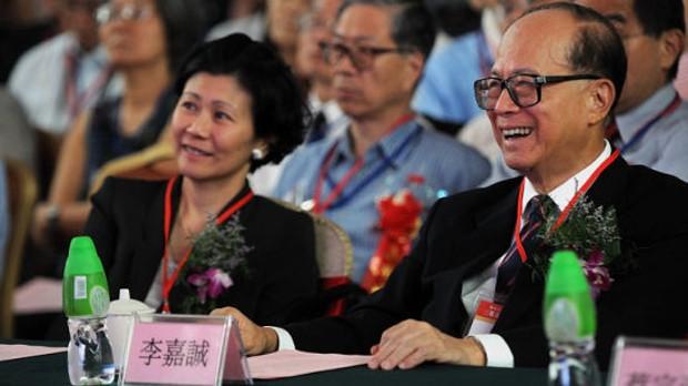 Solina Chau With Li Ka Shing