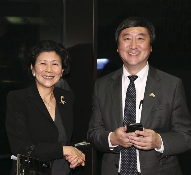 Solina Chau With Joseph Jao-Yio Sung