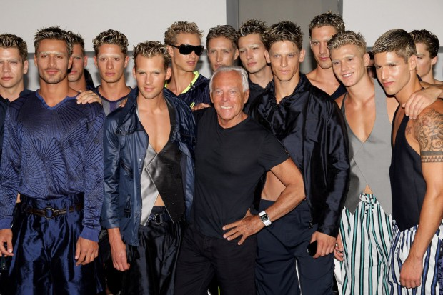 Armani at 2009 Spring Men's Fashion Show