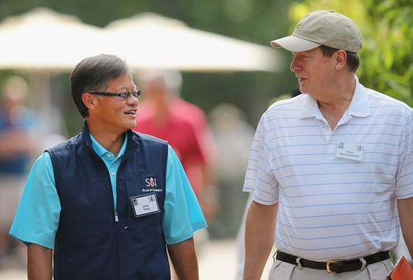 Jerry Yang and Stan Drunckenmiiller