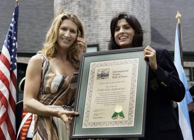 Steffi Graf & Gabriela Sabatini