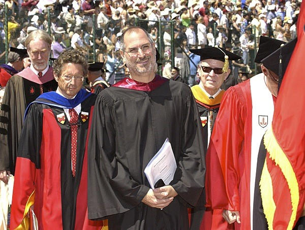 Steve Jobs at Stanford Convocation in 2005