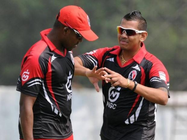 Sunil Narine and Darren Bravo