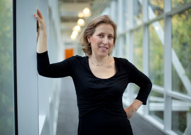 Susan Wojcicki at Google headquarters in Mountain View
