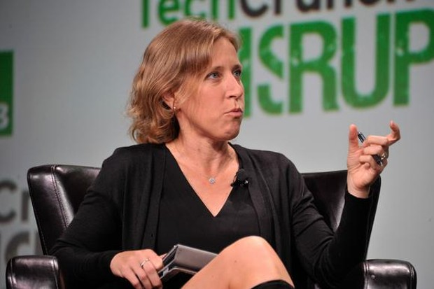Susan Wojcicki at TechCrunch Disrupt