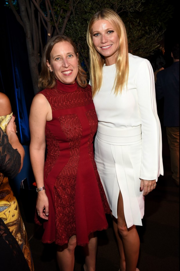 Susan Wojcicki With Gwyneth Paltrow