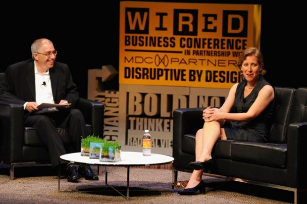 Susan Wojcicki With Steven Levy
