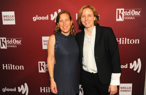 Susan Wojcicki With Megan Smith