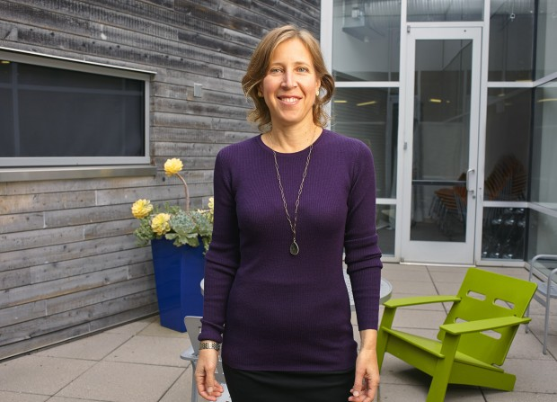 Susan Wojcicki In Google Office